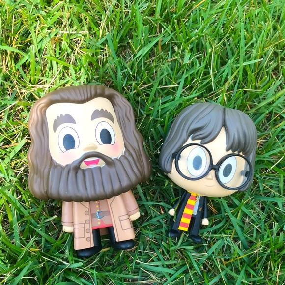 Vynl Harry Potter and Hagrid Funko Pop Set